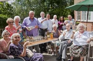 Wolstenholme residents raise a glass