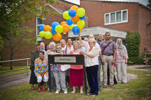 Gillian House 50th Birthday Party Balloons