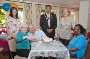 St Barnabus 50th Celebration mayor lowres
