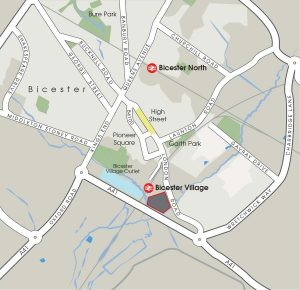 bicester-close-map