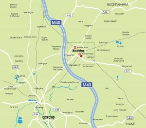 bicester-location-map